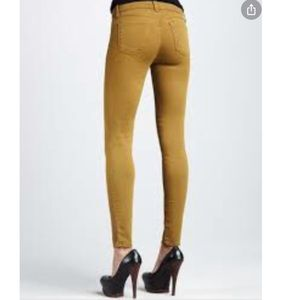 ANTHROPOLOGY PILCRO SKINNY  MID RISE JEAN